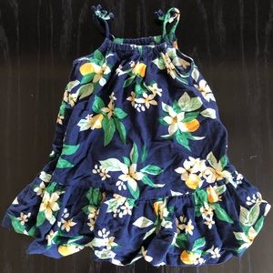 Blue Orange Blossom dress by Old Navy 3T